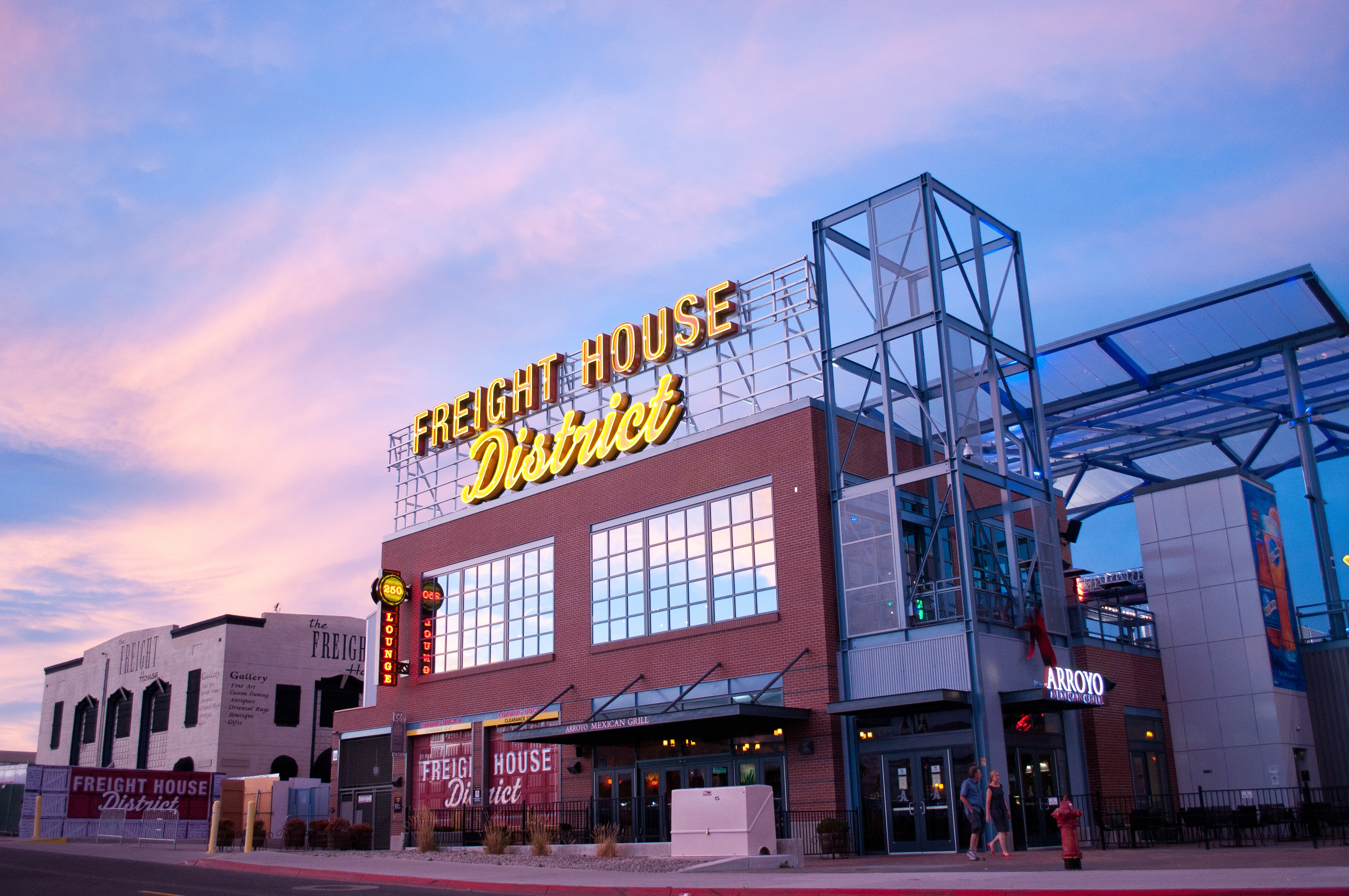 Freight House District in Reno