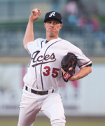 Charles Brewer is the Aces franchise leader in wins, innings and strikeouts.