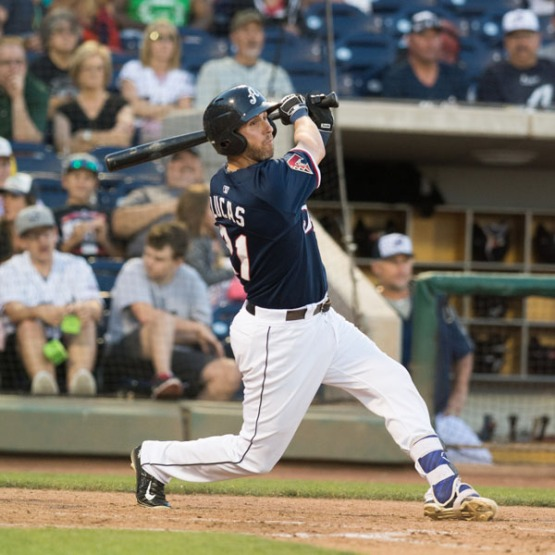 Ed Lucas and the Aces are on a three-game winning streak. (David Calvert/Reno Aces)