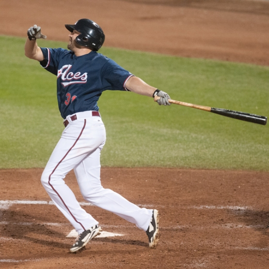 A.J. Pollock returns to Reno tonight for the first time since 2014. (David Calvert/Reno Aces)